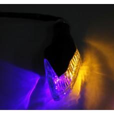 Поворотники светодиодные с габаритом (черные)