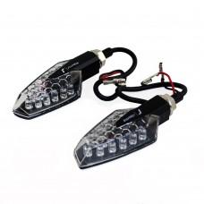 Поворотники светодиодные Rizoma (черные)