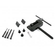 Инструмент для укорачивания и запрессовки замка цепи