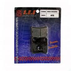 Колодки тормозные дисковые SPI Honda DIO