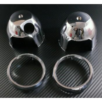 Пластиковые чашки приборной панели (хром) Honda CB400