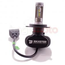 Светодиодная LED лампа головного света BAXSTER H4