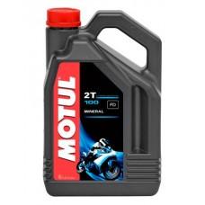 Масло Моторное MOTUL 100 2Т (4 литра)