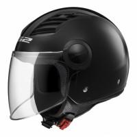Шлем LS2 OF562 AIRFLOW LONG, черный глянцевый