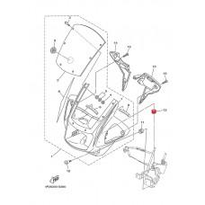 Резиновая уплотнительная шайба Yamaha YBR125 ORIGINAL