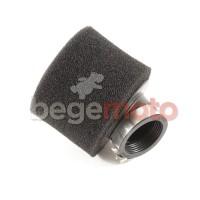 Фильтр нулевого сопротивления 48мм/45 градусов питбайк черный (поролон) Kayo/Pitbike