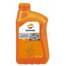Масло для телескопических вилок Repsol Moto Fork Oil 5/10W 1L