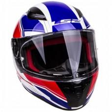 Шлем LS2 FF353 RAPID INFINITY белый/красный/синий