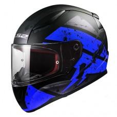 Шлем LS2 FF353 RAPID DEADBOLT синий/черный матовый