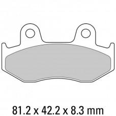 Колодки тормозные дисковые FERODO FDB2132EF