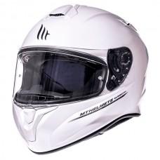 Шлем MT Targo Solid White Gloss