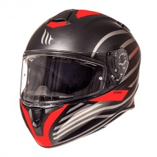 Шлем MT Targo Dopler Black/Red