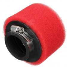 Фильтр нулевого сопротивления 38мм питбайк красный (поролон)