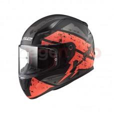 Шлем LS2 FF353 RAPID DEADBOLT оранжевый/черный матовый
