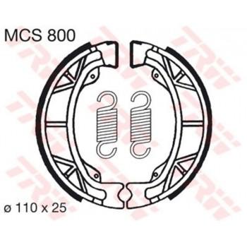 Колодки тормозные барабанные TRW LUCAS MCS800 110х25мм