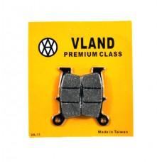 Колодки тормозные дисковые Honda Lead 90cc VLAND
