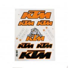 "Набор наклеек ""KTM"""