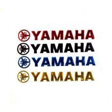 """Наклейка объемная """"Yamaha"""""""