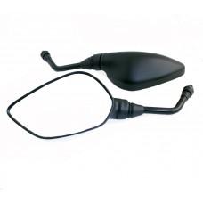 Зеркала заднего вида универсальные (черные, пятиугольные) #2