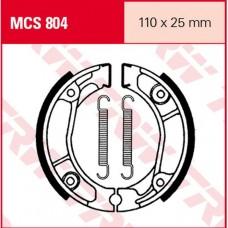 Колодки тормозные барабанные TRW LUCAS MCS804 110x25мм