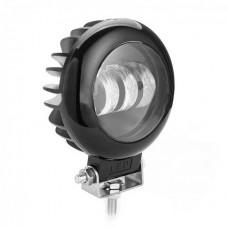 Светодиодная фара дополнительного света 30W 3LED (круглая)
