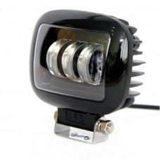 Светодиодная фара дополнительного света 30W 3LED (прямоугольная)