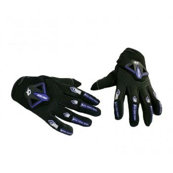 """Перчатки """"RG Gloves"""" черные/синие (текстиль)"""