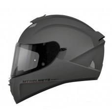 Шлем MT Blade Solid Titanic Gloss