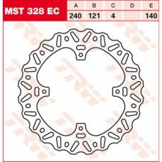 Диск тормозной задний LUCAS MST328EC