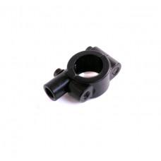 Хомут для крепления зеркала на руль (D=22) черный
