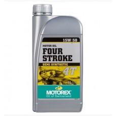 Масло моторное Motorex 4-Stroke 4T 15W50 (1л)