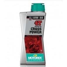 Масло моторное Motorex Cross Power 4T 10W50 (1л)