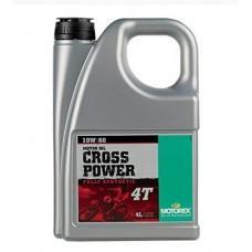 Масло моторное Motorex Cross Power 4T 10W60 (4л)