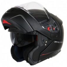 Шлем MT Atom SV Solid Black Mat