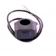 Влагозащищенная кнопка на руль с подсветкой