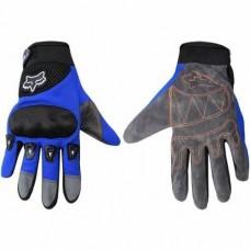 """Перчатки текстильные """"FOX"""" (синие)"""