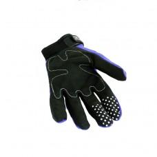 """Перчатки """"RG Gloves"""" черные/синие (текстиль) #2"""