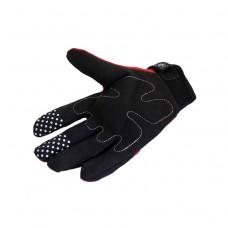 """Перчатки """"RG Gloves"""" черные/красные (текстиль)"""