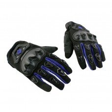 """Перчатки """"Scoyco """" черные/синие (текстиль)"""