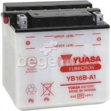 Аккумулятор YUASA YB16B-A (A1)