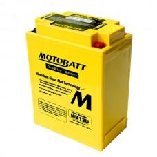Аккумулятор свинцово-кислотный MB12U Motobatt