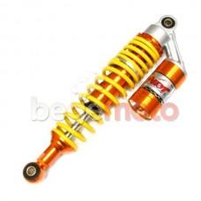 Амортизатор задний газомасляный с баллоном NDT 340mm (желто-оранжевый)