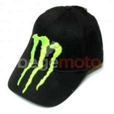"""Бейсболка """"Monster Energy"""" (с эмблемой) черная"""