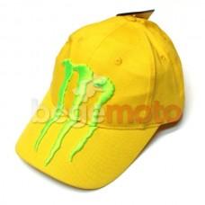 "Бейсболка ""Monster Energy"" (с эмблемой) желтая"