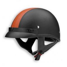 Шлем Vega NT200 (XTS) Stripe оранжевый/черный кожаный р. М
