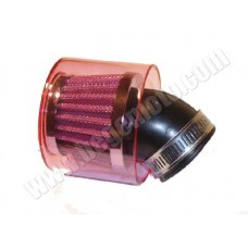 Фильтр нулевого сопротивления - KOSO Power Filter - red 45°/35мм