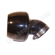 Фильтр нулевого сопротивления - KOSO Turbine -black 45°/35мм