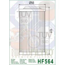 Фильтр  масляный Hiflofiltro HF564