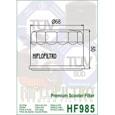 Фильтр масляный Hiflofiltro HF985