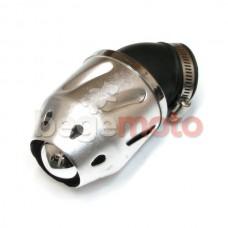 Фильтр нулевого сопротивления BULLET - 45° (серебро)